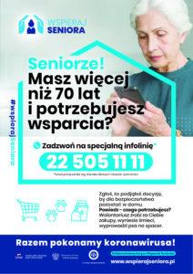 Wspieraj Seniora Plakat