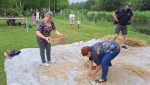 przygotowanie ziarna na mąkę