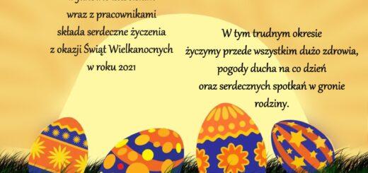 Życzenia na Wielkanoc 2021